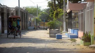 Sitio en el barrio El Ferry donde fue asesinado Jhon Freddy Mantilla Escorcia mientras celebraba.