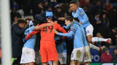 Manchester City se mete en semifinales de la Copa de la Liga