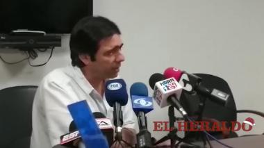 """En video   """"Nos alegra que el nombre  de Suárez tenga aceptación"""": Antonio Char"""