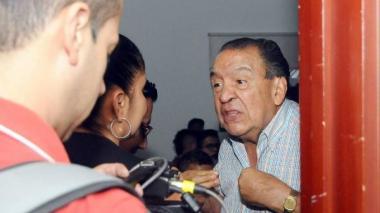 El presidente del Deportes Tolima, Gabriel Camargo.