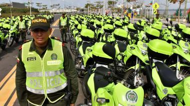 2.000 policías cuidarán la Nochebuena en Barranquilla