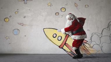 Papá Noel, Santa Claus o San Nicolás son algunos de los nombres de este personaje.