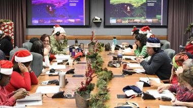 Papá Noel ya viaja en su trineo rastreado por EEUU