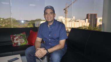 Jacobo Quessep Espinosa, alcalde de la ciudad de Sincelejo.