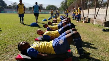 Con 25 jugadores, Real Cartagena arrancó pretemporada en Medellín
