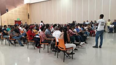 En video   Comenzaron asambleas de estudiantes en la Universidad del Atlántico
