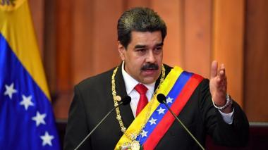 Maduro desafía a Duque en su toma de posesión