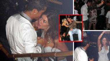 Cristiano Ronaldo y Kathryn Mayorga en un encuentro en el 2009.