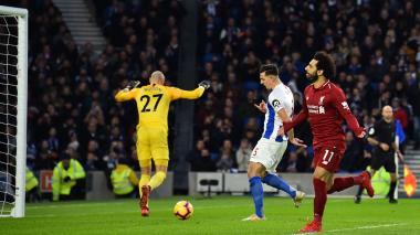 El Liverpool más práctico no falla en Brighton gracias a Salah