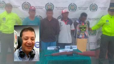 Legalizan capturas de presuntos asesinos de locutor en el Cabo de la Vela