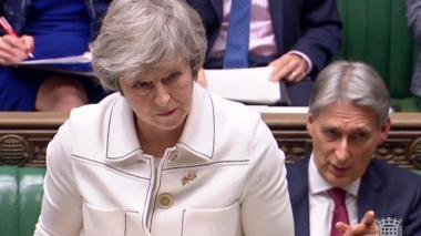Theresa May busca difícil consenso sobre el Brexit