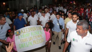 Desde Carrizal, Char pidió justicia por los hechos de Bogotá