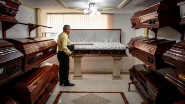 La angustia  de morir sin tener cómo descansar en paz