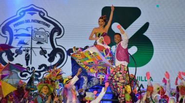 Con 'Teo' de marimonda, Carolina decretó un Carnaval de pura alegría