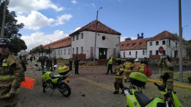 Eln reconoce autoría del atentado en la Escuela General Santander en Bogotá