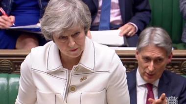 May propone renegociar el punto más conflictivo del Brexit