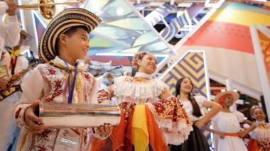 Banda de Baranoa hace sentir el ritmo de Colombia en Fitur 2019