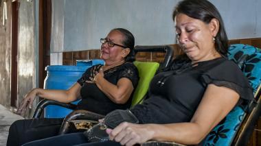 """""""El dolor sigue intacto"""": familiares  de los policías"""