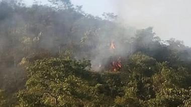 Incendio en la Serranía del Perijá consume 300 hectáreas