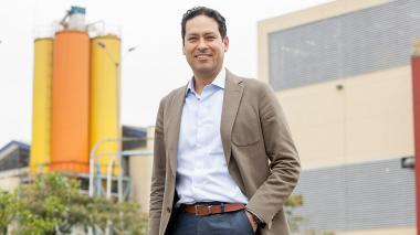 Juan Carlos Moreno, presidente de Pintuco.