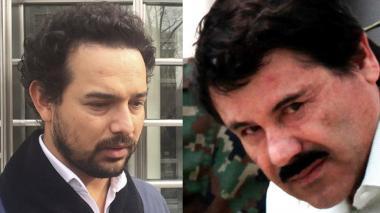 El Chapo saluda con una sonrisa al actor que lo interpreta en 'Narcos'