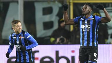 Duván Zapata con el Atalanta elimina a la Juventus de la Copa de Italia