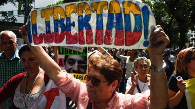 Caracas, la confusa calma de una ciudad convulsa