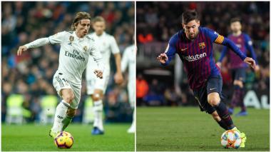 Luka Modric y Lionel Messi, figuras de cada equipo.