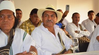 Jaime Arias (sombrero), cabildo mayor del resguardo kankuamo.