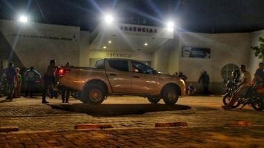 Las tres personas fueron llevadas al Paso Santa María, donde dos de ellas fallecieron.