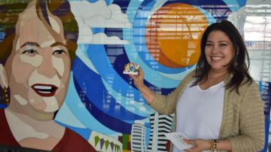 Esthercita Forero, la nueva imagen de las tarjeta de Transmetro