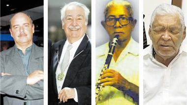 Los cinco homenajeados del Carnaval de las Artes