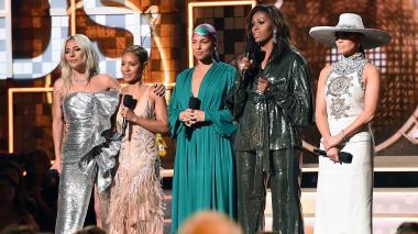 El mensaje de empoderamiento de Michelle Obama en los Grammy