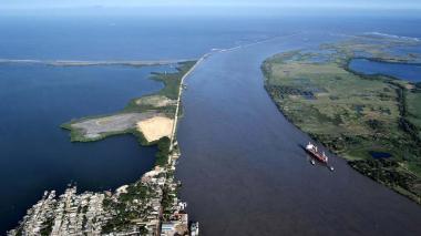 Dimar anuncia nuevas condiciones para la navegación en el canal de acceso al puerto de Barranquilla