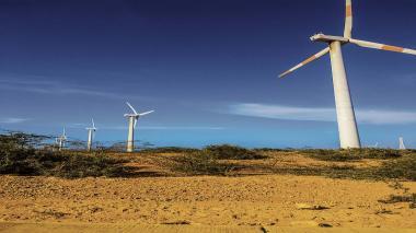 Parque Eólico Jepírachi de EPM, en la Guajira.