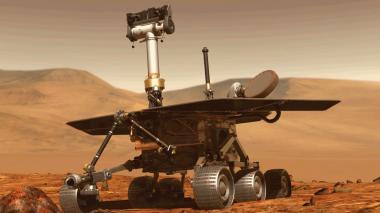 El robot Opportunity, que ha estado en Marte desde 2004.