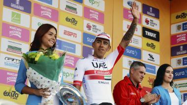 Molano gana tercera etapa y Urán recupera liderato del Tour Colombia