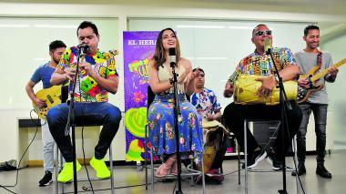 La Banda de Nayo sonó a tradición en Sesiones EH