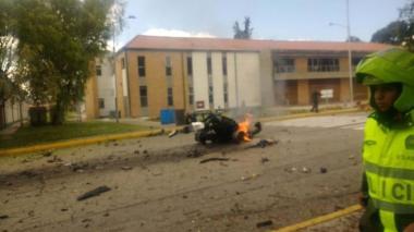 Trabajaremos para que los responsables respondan: Duque tras un mes del atentado en la General Santander