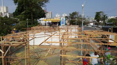 Ante polémica, modifican diseño de la feria en el parque Esther Forero