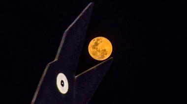Este martes se verá la superluna de nieve en Colombia