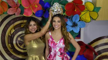 Flores y calles de Barranquilla inspiraron la corona de Carolina