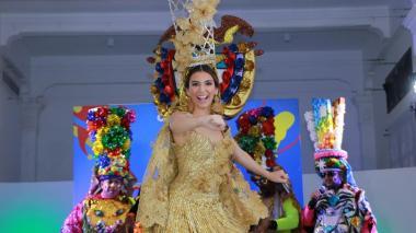 Carolina será un 'Congo real' este domingo en el Carnaval de los Niños