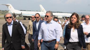 Presidente Duque llega a Cúcuta para concierto por la libertad de Venezuela