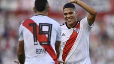 River Plate gana de la mano de Juan Fernando Quintero