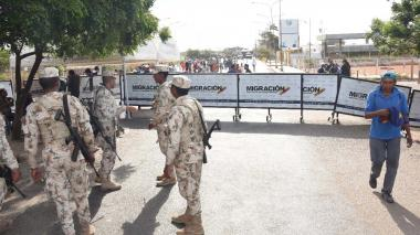 Desertaron tres uniformados venezolanos por la frontera en La Guajira