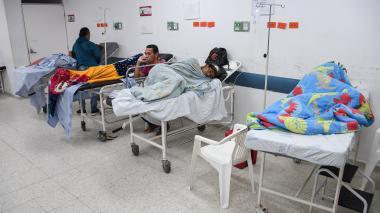 """Red distrital de salud, desbordada por """"alto costo"""" de pacientes venezolanos"""