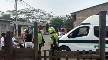 Riña familiar deja cuatro policías y dos civiles heridos