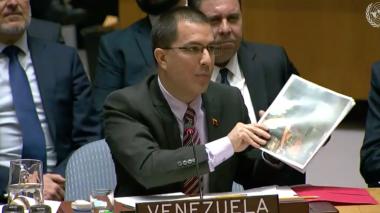 """Venezuela pide a la ONU que rechace """"uso de la fuerza"""""""