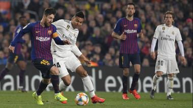 Real Madrid y Barcelona disputarán un cupo por la final de la Copa del Rey